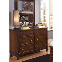 Chelsea Square 6-Drawer Dresser and Mirror Set