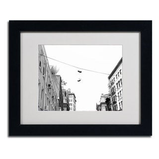 Miguel Paredes 'Lil Italy' Framed Matted Art