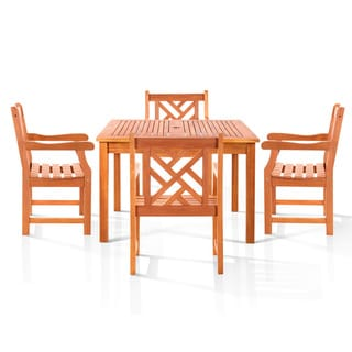 Danis Eco-friendly Outdoor 5-piece Dining Set