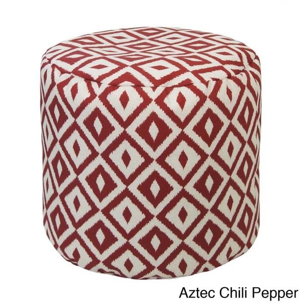 Outdoor/ Indoor Weather Resistant Bean Bag Ottoman