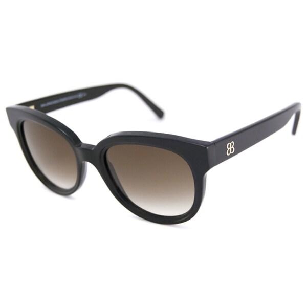 bfc824d150 Shop Balenciaga Women s BAL0137 Rectangular Sunglasses - Free ...