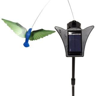 Solar Powered Dancing Blue Body Hummingbird