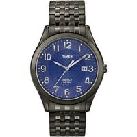 Timex T2P2039J Men's 'Elevated Classics' Black Expansion Band Watch
