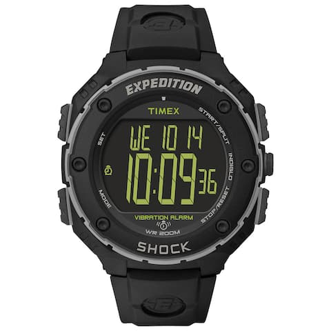 Timex Men's T49950 Expedition Shock XL Vibrating Alarm Watch