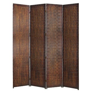 Danyl 4-panel Wood Screen (China)