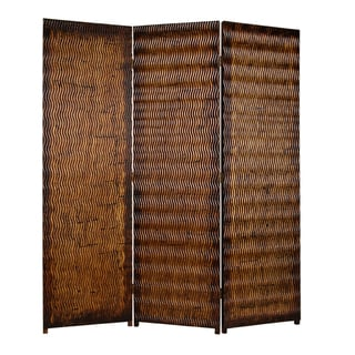 Albata 3-panel Wood Screen (China)