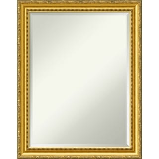 Link to Wall Mirror, Colonial Embossed Gold Wood Similar Items in Mirrors