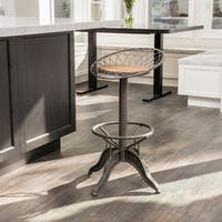 Grayson 46-inch Weathered Wood Barstool by Christopher Knight Home