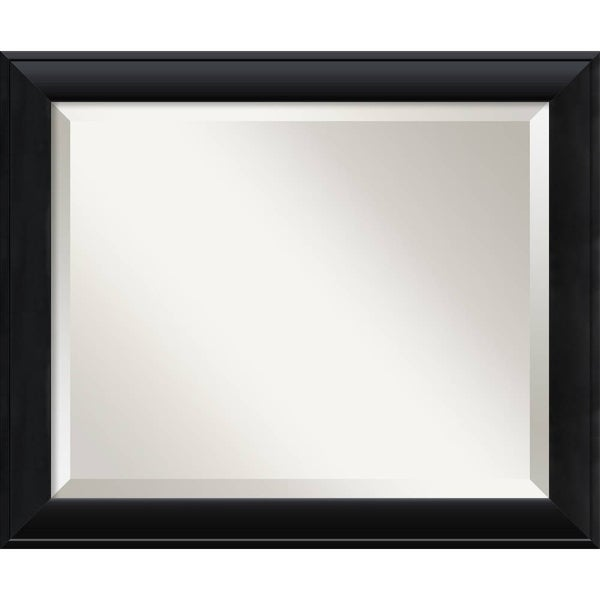 Wall Mirror Medium, Nero Black 20 x 24-inch - medium - 20 x 24-inch