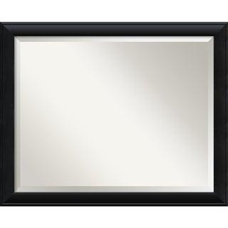Wall Mirror Large, Nero Black 32 x 26-inch - large - 32 x 26-inch