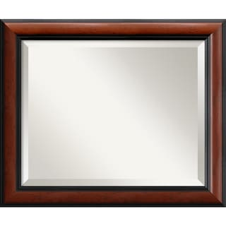 Regency Medium Mahogany 24 x 20-inch Wall Mirror