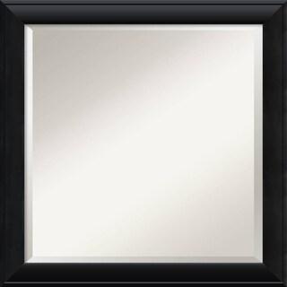 Wall Mirror Square, Nero Black 24 x 24-inch