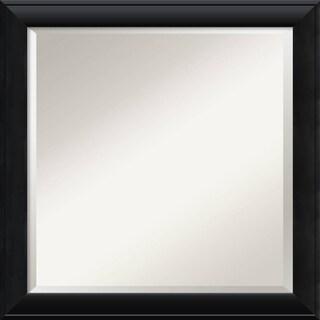 Wall Mirror Square, Nero Black 24 x 24-inch - square - 24 x 24-inch