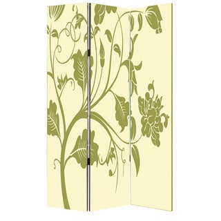 Avery 3-Panel Canvas Screen