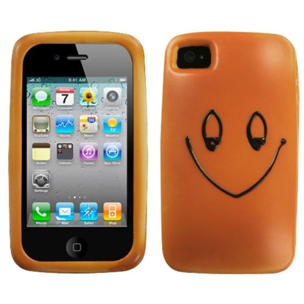 INSTEN Jolly Jelly Bun Phone Case Cover for Apple iPhone 4S/ 4