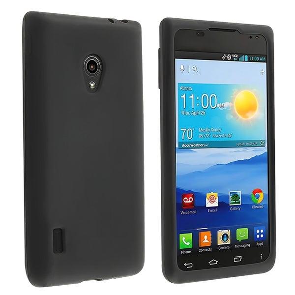 BasAcc Black Silicone Skin Case for LG Lucid 2 VS870