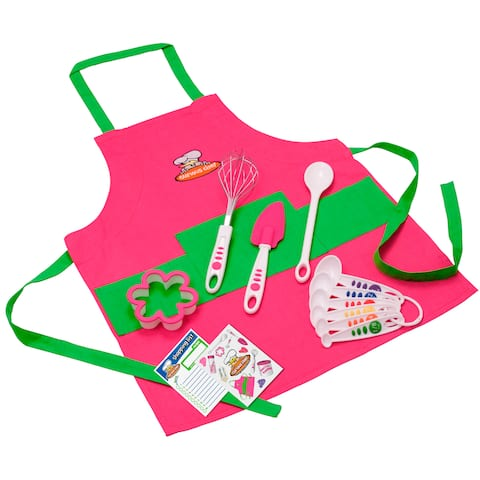 Curious Chef 11-piece Girl's Chef Kit