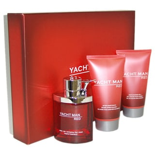 Myrurgia Yacht Man Red Men's 3-piece Fragrance Gift Set