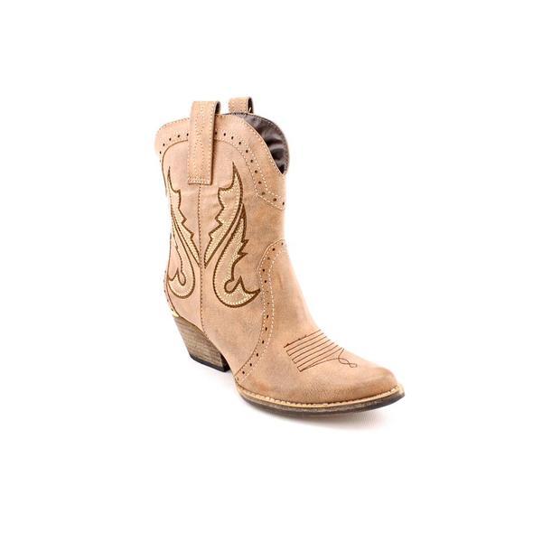 01f52a7b700 Shop Volatile Women's 'Markie' Light Brown Man-Made Boots - Free ...