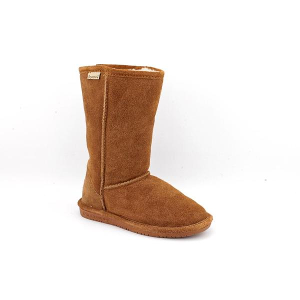 Bearpaw Girl Youth 'Emma Tall' Regular Suede Boots (Size  1 )