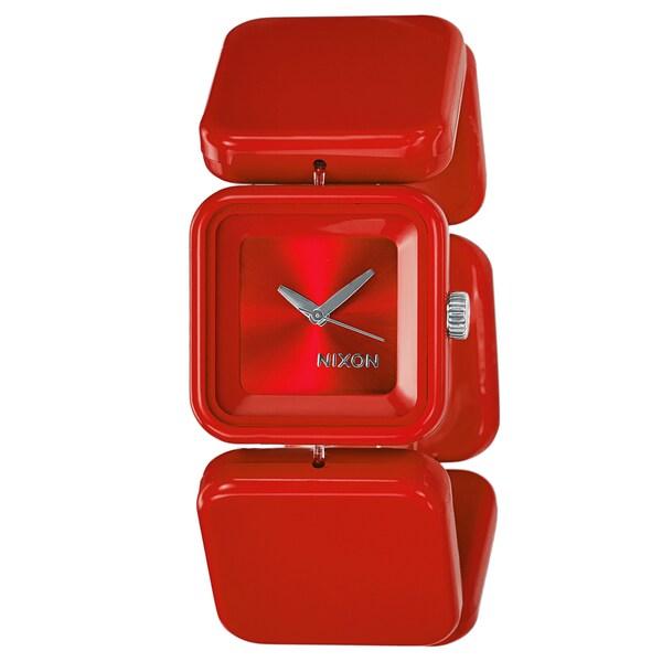 Nixon Women's 'The Misty' Red Polycarbonate Watch