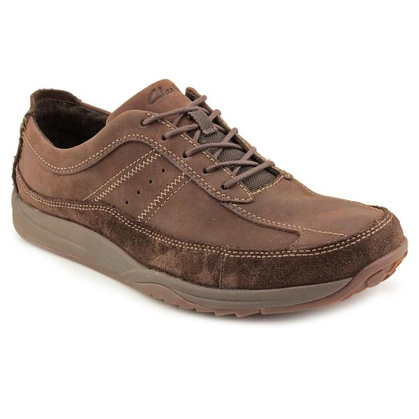 Clarks Men's 'Manley' Leather Casual Shoes