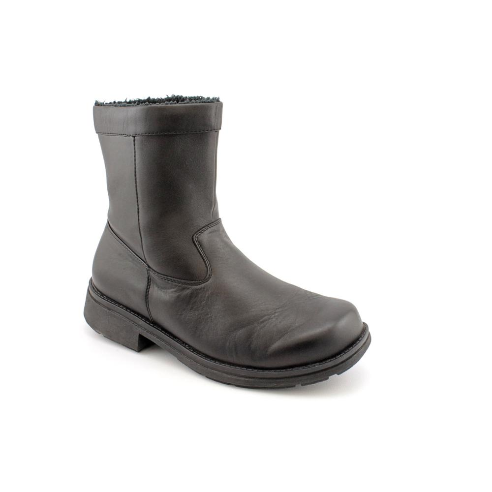 Ryan' Leather Boots - Extra Wide