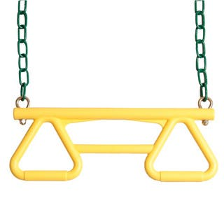 Backyard Discovery Yellow Trapeze Swing - 1 inches long x 17 inches wide x 6 inches high