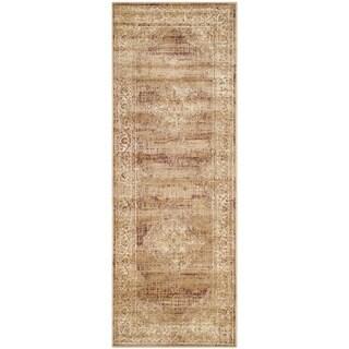 Safavieh Vintage Taupe Viscose Runner (2'2 x 6')