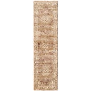 Safavieh Vintage Taupe Viscose Runner (2'2 x 8')