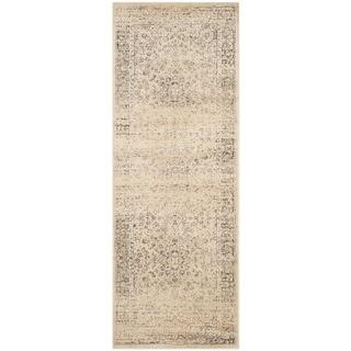 Safavieh Vintage Oriental Warm Beige Distressed Silky Viscose Rug (2'2 x 6')