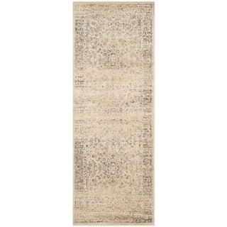 Safavieh Vintage Oriental Warm Beige Distressed Silky Viscose Rug - 2'2 x 6'