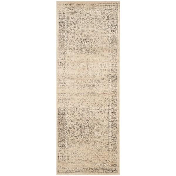 Shop Safavieh Vintage Oriental Warm Beige Distressed Silky