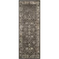 Safavieh Vintage Oriental Soft Anthracite Distressed Silky Viscose Runner - 2'2 x 6'