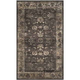 Safavieh Antiqued Vintage Soft Anthracite Viscose Rug (3'3 x 5'7)