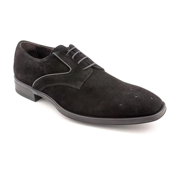 MKP by Mike-Konos Men's '4 Eye PT' Regular Suede Dress Shoes