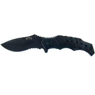 Frost Cutlery Flip 'n' Stick Quick Release Tactical Knife (4.5-inches Closed)
