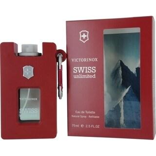 Swiss Army Swiss Unlimited Men's 2.5-ounce Eau de Toilette Refillable Spray