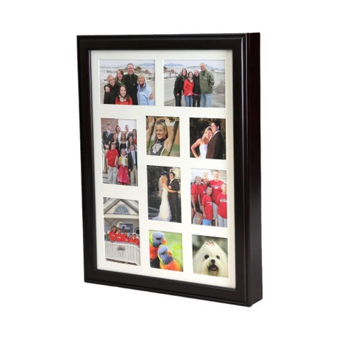 Wall-mount Photo Frame Wooden Jewelry Box