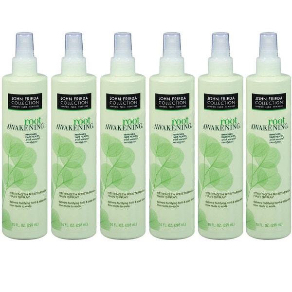 John Frieda Root Awakening Strength Restoring 10-ounce Hair Spray (Pack of 6)