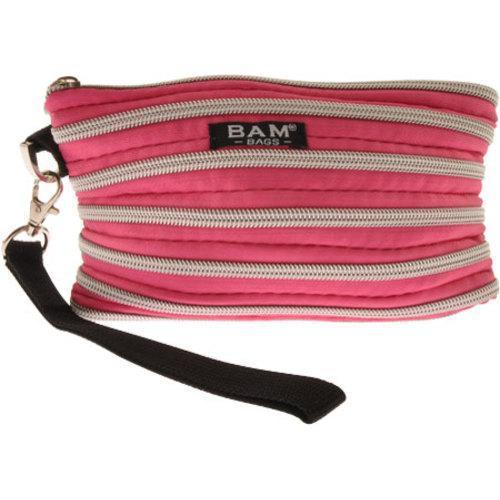 Women X27 S Bam Bags Wristlet Make Up Bag Hot Pink