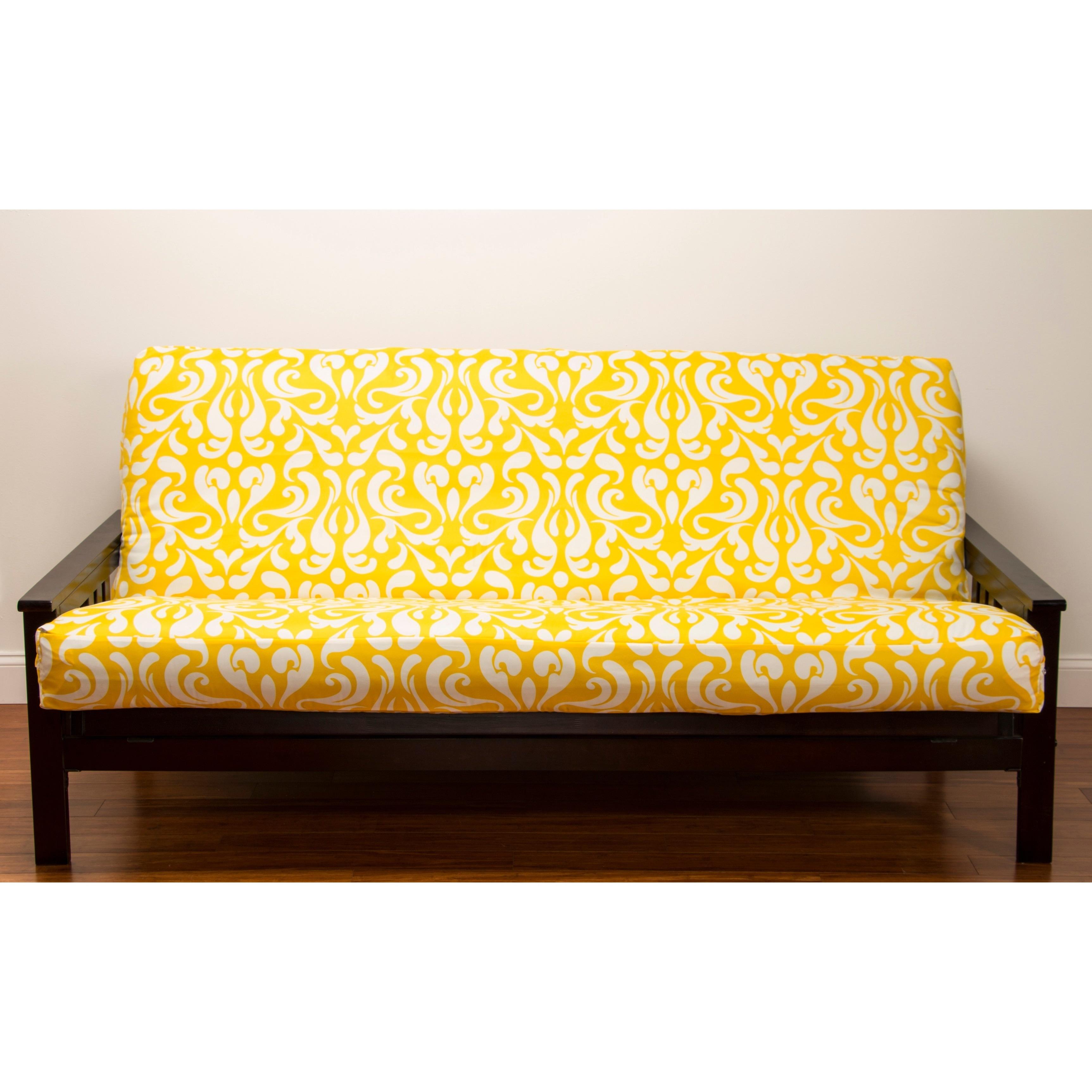 Yellow Futon Sofa Bed N 195 O Somos A Rostinhos Bonitos E