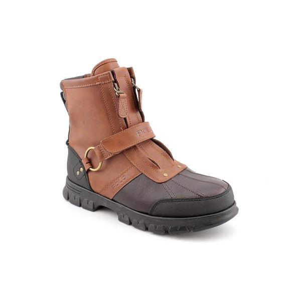Shop Leather Bootssize Ralph Men's Hi 13 Lauren Polo 'conquest 2' lFKc3T1J