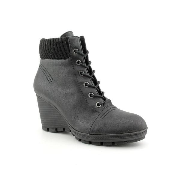 Shop Kenneth Cole Reaction Women s  Greet Jeans  Black Leather Boots ... 17d75de28