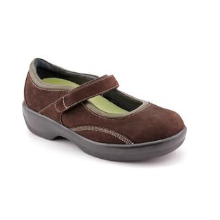 Ambulator Women's 'B6100' Nubuck Casual Shoes - Wide (Size  5.5 )