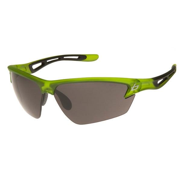 e2e66c6a3bb8b Shop Bolle Men s Draft 11491 Green Sport Sunglasses - Free Shipping ...