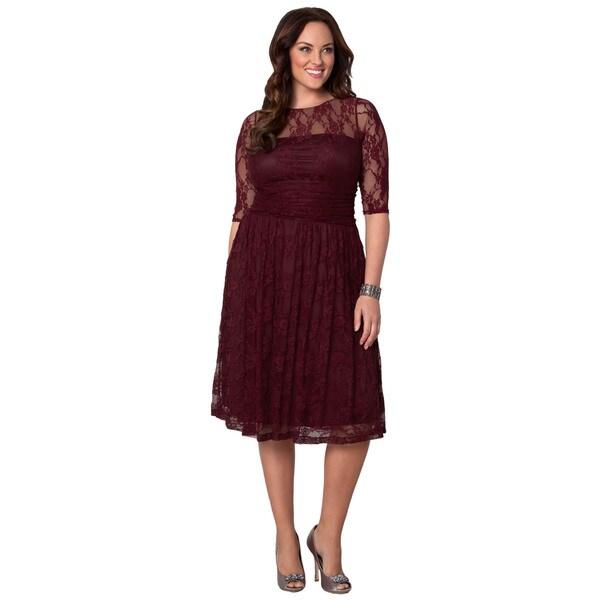 Kiyonna Women's Plus Size 'Luna' Lace Dress