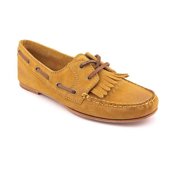 Frye Women's 'Wendy Lace Moc' Regular Suede Casual Shoes (Size  5.5 )