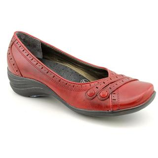 Hush Puppies Women's 'Burlesque' Leather Casual Shoes - Extra Wide (Size 10 )