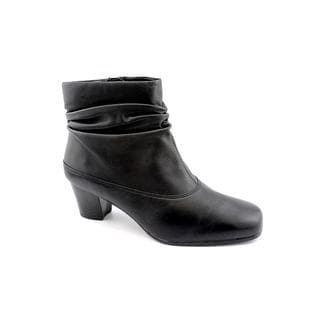 David Tate Women's 'Vera' Leather Boots - Wide (Size 8 )